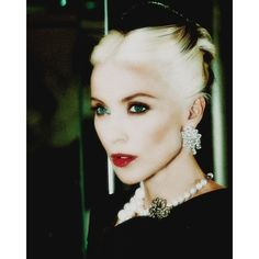 Daphne Guinness by Joseph Lally Fashion Copious ❤ liked on Polyvore