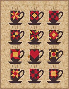 Country Junk'tion features a FREE Quilt Block-of-the-Month Pattern available for download now. Get previous month's patterns for a small fee.