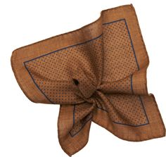 Brown Pocket Square D12215   Suitsupply Online Store