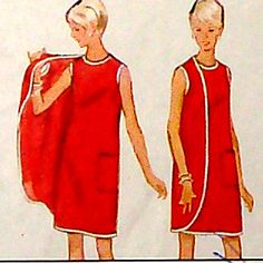 whoa. loving this pattern filled with sass. vintage butterick.