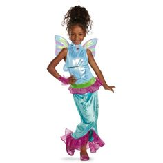 Disguise Girls Winx Club Aisha Mermaid Classic Costume 46X * Details can be found by clicking on the image-affiliate link.
