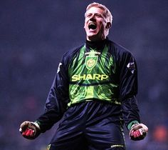 Great Dane: Peter Schmeichel dominated the No 1 shirt between 1991 and 1999
