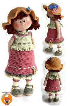 Mesmerizing Crochet an Amigurumi Rabbit Ideas. Lovely Crochet an Amigurumi Rabbit Ideas. Crochet Motifs, Crochet Doll Pattern, Crochet Toys Patterns, Amigurumi Patterns, Stuffed Toys Patterns, Doll Patterns, Cute Crochet, Easy Crochet, Crochet Baby