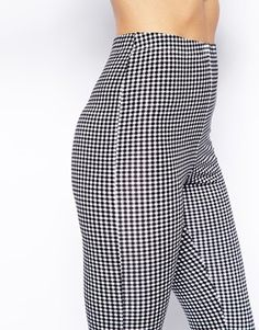 Enlarge ASOS Leggings in Mini Gingham Check