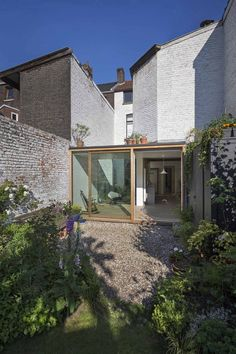 Extension of spaces of life of a one-family dwelling. Victorian Terrace House, House Extensions, Art Deco Design, Architecture, My Dream Home, Home Deco, Outdoor Spaces, Interior And Exterior, New Homes