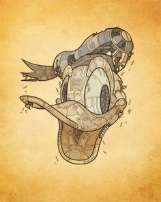 Awesome Mechanical Illustrations by Jason Gamber