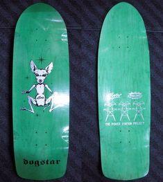 Alva Skates / Pool King Skates Dogstar Deck Green 10 x 33.5 WB16