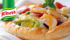 KNORR: Cheesy Vegetable tartlets