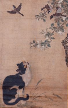 The Cats of 19th Century Japan