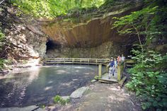 Hike to the Marble Mine at the James Floyd State Park and you'll find several of the park's hidden gems.