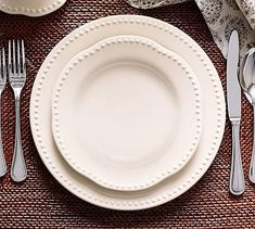 Set the table with casual dishware and dinnerware from Pottery Barn. Find dishware sets in classic colors for simple, stylish dining perfect for year round use. White Dinner Plates, White Plates, Dinner Plate Sets, Dinner Ware, Stoneware Dinnerware, Dinnerware Sets, White Home Decor, Cooking Gadgets, Plates On Wall