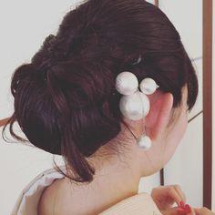色打掛と白無垢専用♡可愛すぎる和装ヘアスタイル特集✳︎ | marry[マリー]