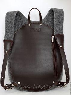 Marvelous Make a Hobo Bag Ideas. All Time Favorite Make a Hobo Bag Ideas. Hobo Bag, Backpack Bags, Leather Backpack, Leather Wallet, Leather Bag, Leather Purses, Leather Handbags, Back Bag, Felt Purse