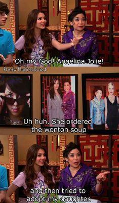 haha #angelinajolie