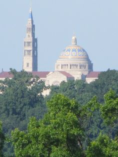National Shrine Of The Immaculate Conception.  Photo by Frederick Meekins