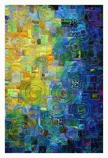 art quilt wonderful colors!