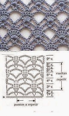 World crochet: Pattern 17