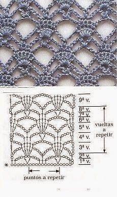 World crochet: Pattern 17                                                                                                                                                                                 Más