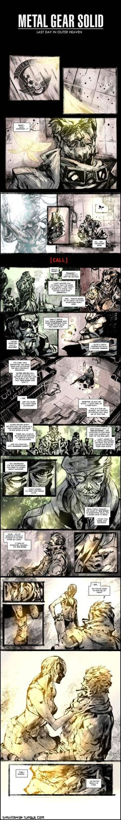 Metal Gear Solid V Fan's Comic Ending Is Better Than The Real Thing #MetalGearSolid #MGS5