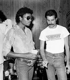Michael Jackson & Freddie Mercuri