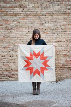 "Fun ""Star Quilt"" by Courney Heimerl."