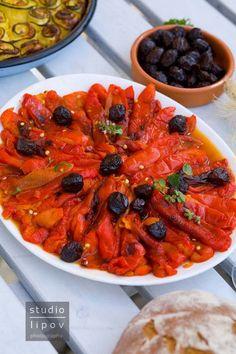 Sałatka z pieczonej papryki. Bułgarska | Lawendowy Dom