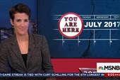 Rachel goes through timeline of breaking news
