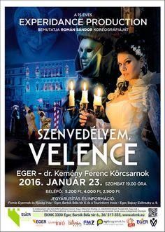 Plakat104.hu: ExperiDance: Szenvedélyem, Velence