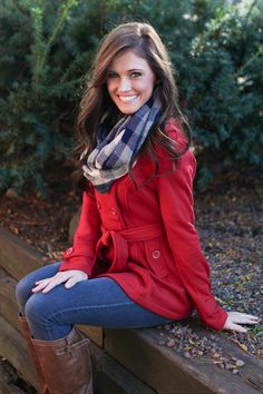 Magnolia Boutique Indianapolis - Liverpool Tie Waist Peacoat - Red, $39.00 (http://www.indiefashionboutique.com/liverpool-tie-waist-peacoat-red/)