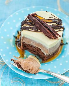 Triple chocolate mousse cake supergolden bakes