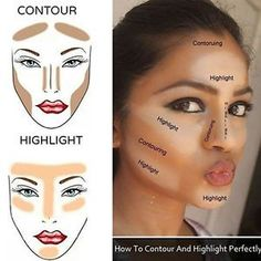 Makeup Idea 2018 Makeup For Beginners With Products And Step By Step Tutorial Lists That Cover What To Buy, How To Apply, And Basic Tips And Tricks For Make Up Beginners. Curious How To Put On Eyeshadow Or Contour For Discovred by : Our Makeup Diaries Contour Makeup, Contouring And Highlighting, Skin Makeup, Makeup Brushes, Beauty Makeup, Beauty Skin, Diy Beauty, Makeup Remover, Beauty Ideas