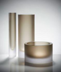The Basics Collection   Glassware by Belgium Designer Anna Torfs