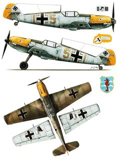 Messerschmitt Bf 109E3 9.JG3 (Y5+I) Egon Troha WNr 5153 sd 29th Oct 1940-Kagero 15016
