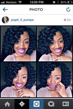 My next hair style...curly protective style using Marley hair and perm rods with no leave out.