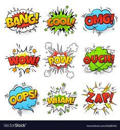 Cartoon speech bubble with zap pow wtf boom text. Cartoon speech bubble with zap pow wtf boom text stock illustration Cartoon Speech Bubble, Comic Bubble, Pop Art Boom, Zap Comics, Comic Sound Effects, Pop Art Background, Comic Text, Wow Words, Balloon Illustration