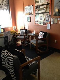 School Counselor Space: wishing this was my office!