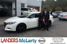 Congratulations Tonya on your #Nissan #Maxima from Terence Muhammad at Landers McLarty Nissan !  https://deliverymaxx.com/DealerReviews.aspx?DealerCode=RKUY  #LandersMcLartyNissan