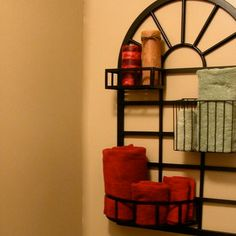 Easy DIY Wall Organizers - Towel Holder - Click Pic for 19 DIY Storage Ideas for Small Bedrooms