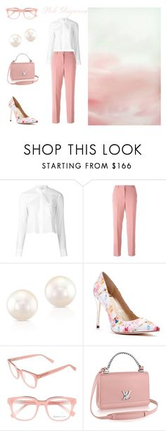 """""""Pale Dogwood"""" featuring Helmut Lang, Ermanno Scervino, Anne Sisteron, GUESS by Marciano and Derek Lam"""