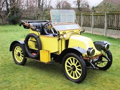 1911 Renault AX 2-Seater