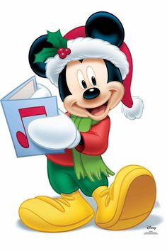 Mickey Minnie Mouse, Mickey Disney, Minnie Mouse Christmas, Mickey Mouse And Friends, Cute Disney, Mickey Mouse Images, Christmas Characters, Christmas Themes, Figurine Disney