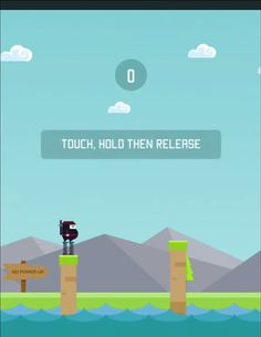 Spring Ninja is a new endless platform game from Ketchapp and it seems like its main goal is to redefine frustration. #games #tips #tricks