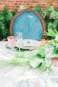 Lilly Pulitzer Inspired Wedding