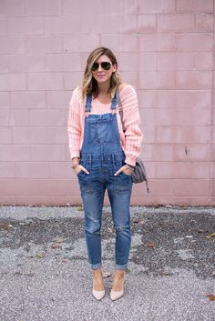 Cella Jane // Fashion + Lifestyle Blog: Overalls and Heels