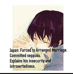 Hetalia - for those that don't know, seppuku is basically suicide.