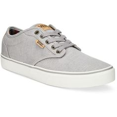 outlet store 185ad 5dc44 Vans Mens Atwood Deluxe Twill Sneakers (65) ❤ liked on Polyvore featuring  mens fashion