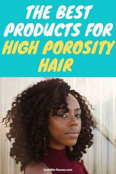 Looking to improve your high porosity hair regimen? Learn which are the best products for high porosity hair here! Growing Out Short Hair Styles, Grow Long Hair, Damp Hair Styles, Low Porosity Hair Products, Hair Porosity, Vitamins For Hair Growth, Hair Vitamins, Healthy Hair Tips, Healthy Hair Growth