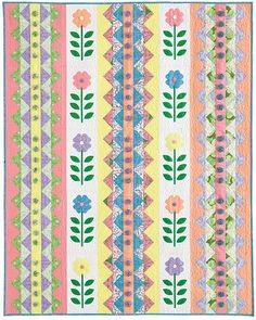 Amanda Murphy's Buttoned Up for Spring appears in Quilts from Quiltmaker's 100 Blocks. Giveaway on Quilty Pleasures until midnight 9/5: http://www.quiltmaker.com/blogs/quiltypleasures/2012/09/qm-rocks-the-blocks-20-giveaways/