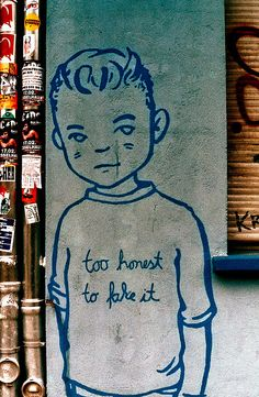 To Honest To Fake It, Berlin!  Unknown Artist!