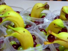 "Banana/Grape ""Dolphin"" Snacks"